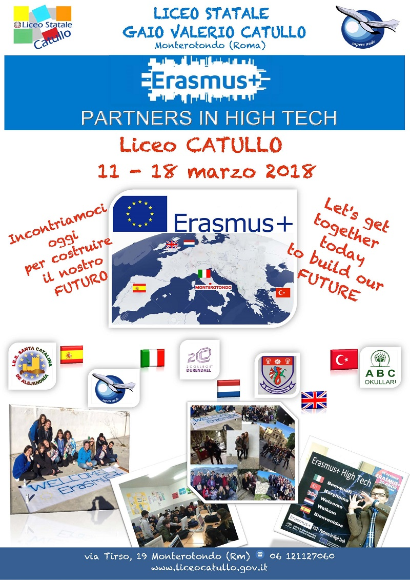 erasmus high tech -Manifesto Evento Erasmus